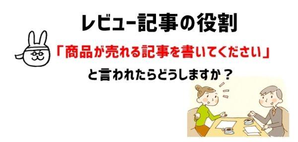 【事前準備】レビュー記事の役割(目的)